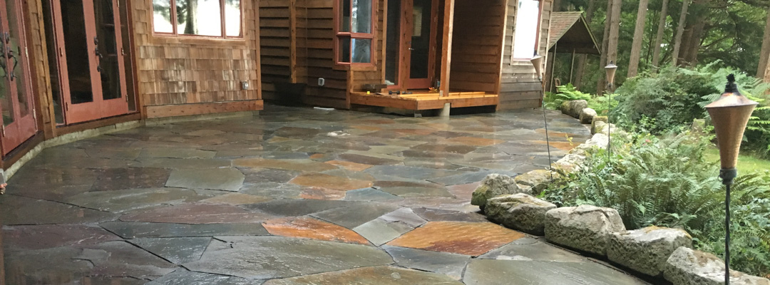Preservative Services hardscapes flagstone